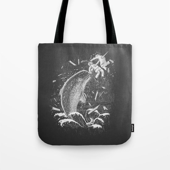 Narwhal Skewer Tote Bag