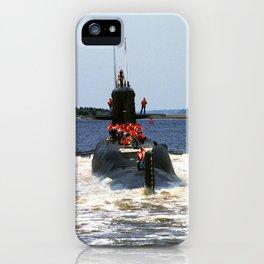 USS MARIANO G. VALLEJO (SSBN-658) iPhone Case