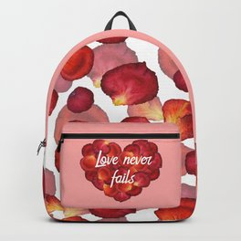 Love never fails Backpack