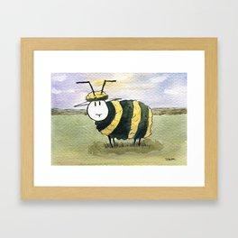 Beep Framed Art Print