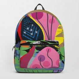 Pink Pyramids Backpack
