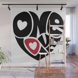 One Love Wall Mural