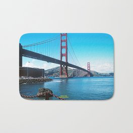 Golden Gate Bath Mat
