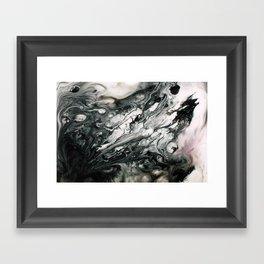 LUCID FLUID Framed Art Print