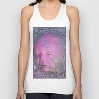 no face Tank Tops featuring Face by Victoria Herrera