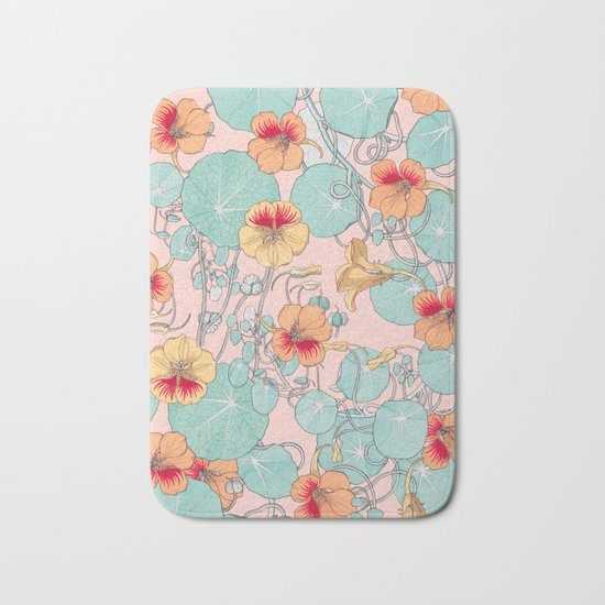 Lily Pond #society6 #decor #buyart Bath Mat