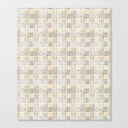 Classical beige cell. Canvas Print
