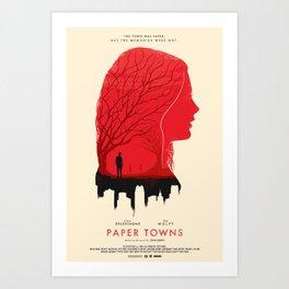 Memories - Paper Towns  Art Print