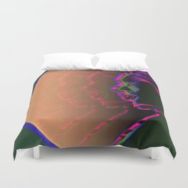 AVATARS / Cloning / Post Biological Era. Duvet Cover