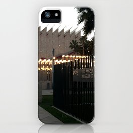 LACMA LIGHTS iPhone Case