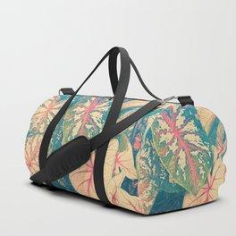 Surreal Caladium Duffle Bag