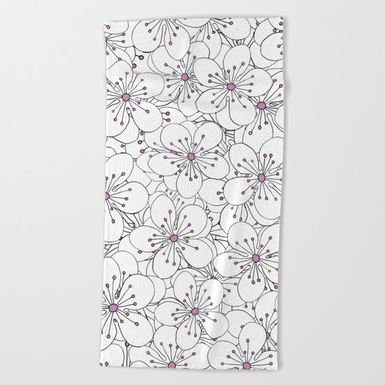 Cherry Blossom Pink - In Memory of Mackenzie Beach Towel