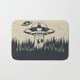 Unidentified Feline Object Bath Mat