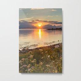 Blandford Sunset Metal Print