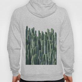 Teal Cactus Desert Hoody