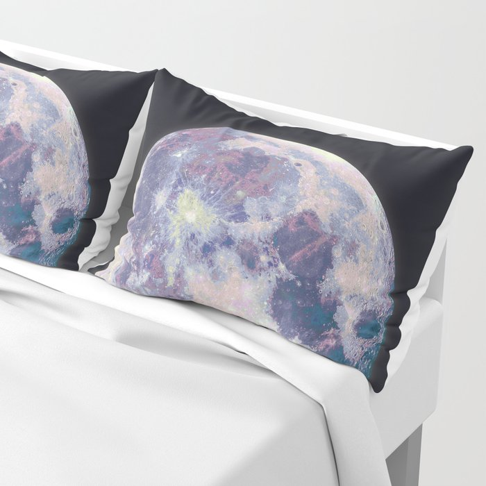 Blue moon Pillow Sham