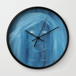 Invisible by Lu Wall Clock