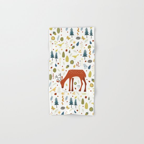 Oh Deer Hand & Bath Towel