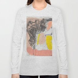 yellow-pink hope Long Sleeve T-shirt
