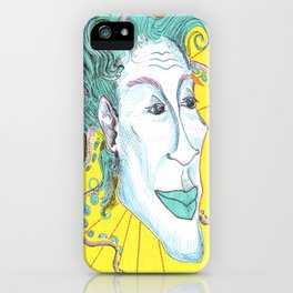 My friend that smiles iPhone Case