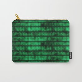 Green Dna Data Code Carry-All Pouch