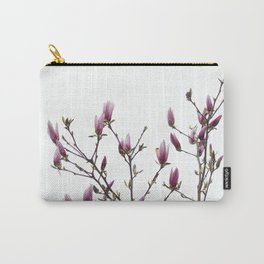 Spring Pink Flowers Carry-All Pouch