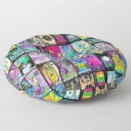 Tarot Major Arcana Floor Pillow