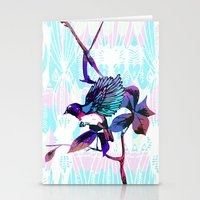 birdy Stationery Cards featuring Birdy by Cata