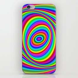 Rainbow Hypnosis iPhone Skin