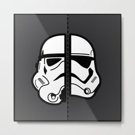 Old & New Storm Trooper  Metal Print