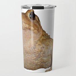 Bufo Bufo European Toad  Isolated Travel Mug