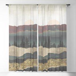Early Autumn Sheer Curtain