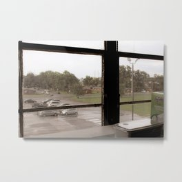 Hello, Gentrification in the Southeastern United States Metal Print
