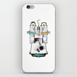 Ignition Stroke iPhone Skin