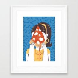 Pizza Framed Art Print
