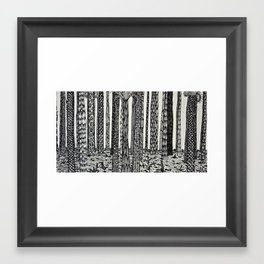 fi. Framed Art Print