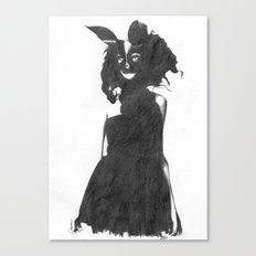 Bunny girl Canvas Print