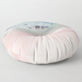 Ocean Pink Blush Floor Pillow