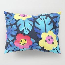Watercolor tropical bloom Pillow Sham
