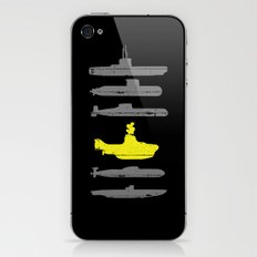 Know Your Submarines iPhone & iPod Skin