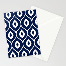 Leela Navy Stationery Cards