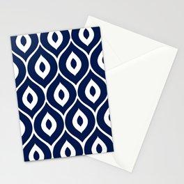 Leela Navy Stationery Cards