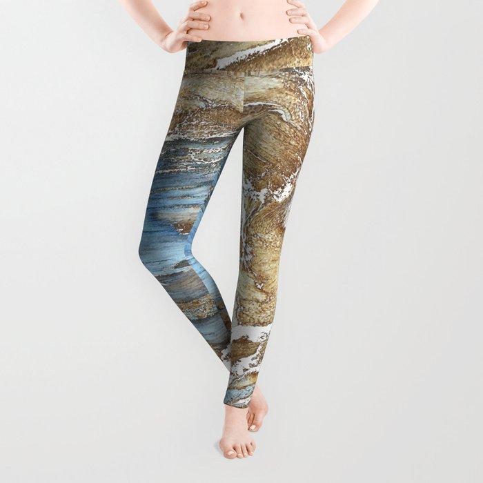 Woody Silver Leggings