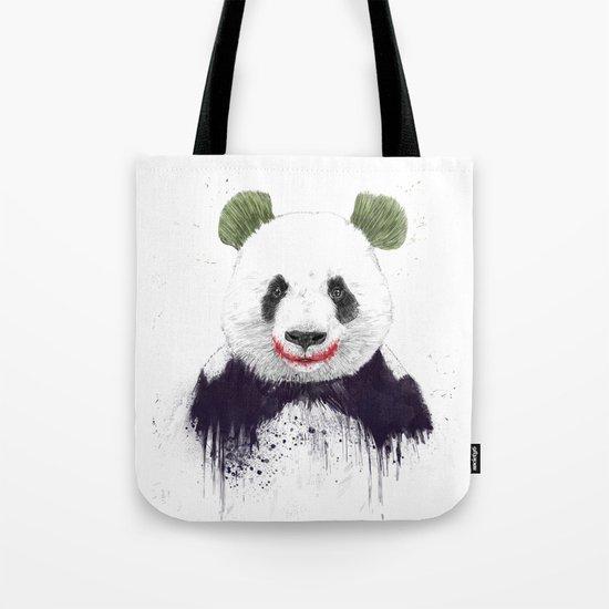 Jokerface Tote Bag
