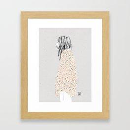 Coat Framed Art Print