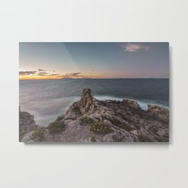 Long exposure seascape Metal Print