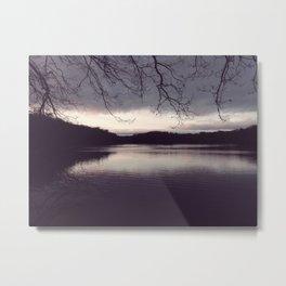 At The Lake Metal Print