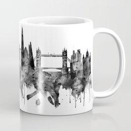 London England Skyline BW Coffee Mug