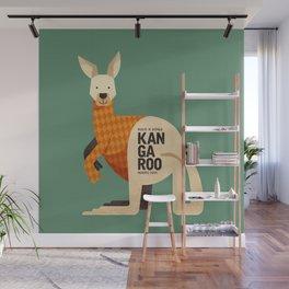 Hello Kangaroo Wall Mural