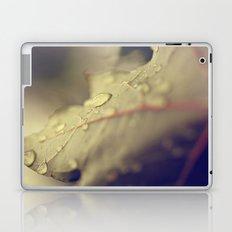 Drops on a Leaf Laptop & iPad Skin